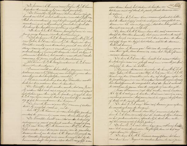 Roosendaal: Notulen gemeenteraad (besloten), 1851-1916 1898