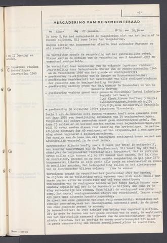 Rucphen: Notulen gemeenteraad, dec. 1949-1998 1970-01-01