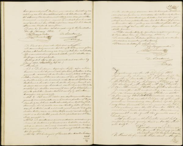 Roosendaal: Notulen gemeenteraad, 1851-1917 1852