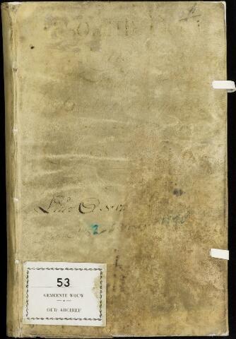 Wouw: Registers van resoluties, 1593-1811 1752