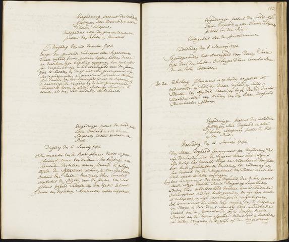 Roosendaal: Registers van resoluties, 1671-1673, 1675, 1677-1795 1784