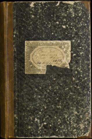 Roosendaal: Notulen gemeenteraad, 1851-1917 1851