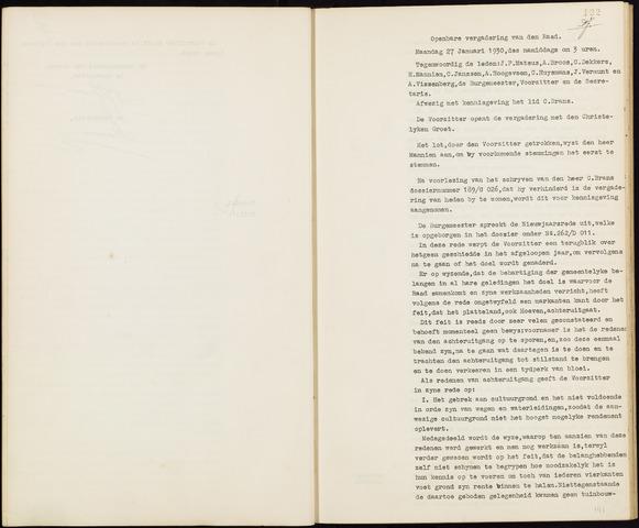 Hoeven: Notulen gemeenteraad, 1928-1996 1930-01-01