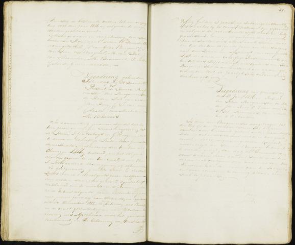 Roosendaal: Notulen 1814-1851 1816