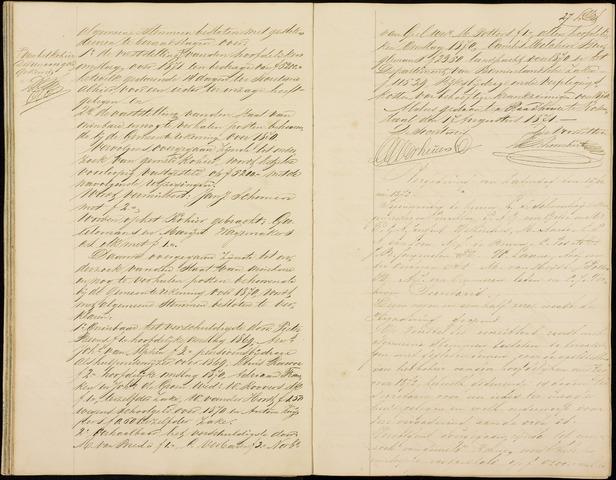 Roosendaal: Notulen gemeenteraad (besloten), 1851-1916 1872