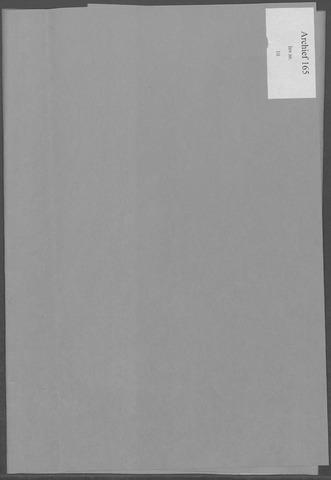 Etten-Leur: Notulen gemeenteraad, 1936-1979 1961-01-01
