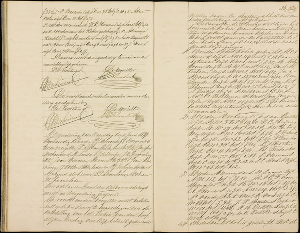 Roosendaal: Notulen gemeenteraad (besloten), 1851-1916 1879