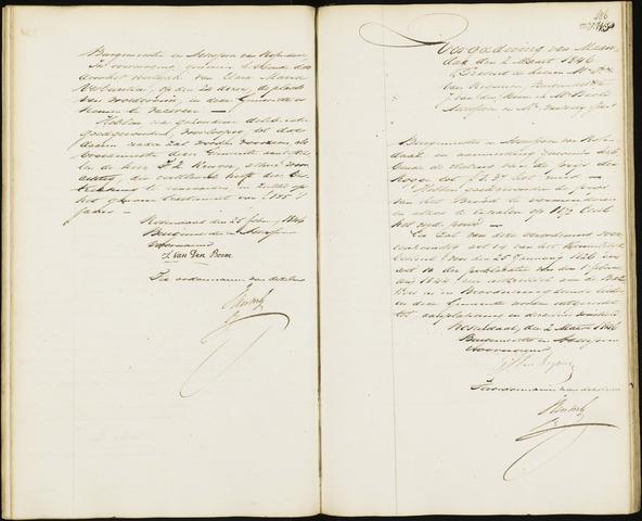Roosendaal: Notulen van burgemeester en assessoren, 1827-1851 1846