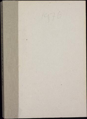 Roosendaal: Notulen gemeenteraad, 1916-1999 1976