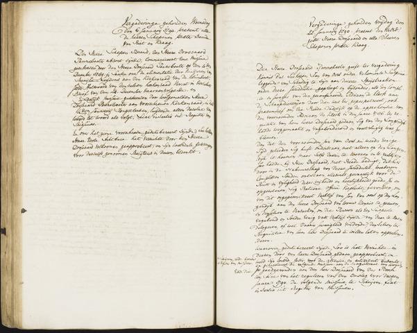 Roosendaal: Registers van resoluties, 1671-1673, 1675, 1677-1795 1790