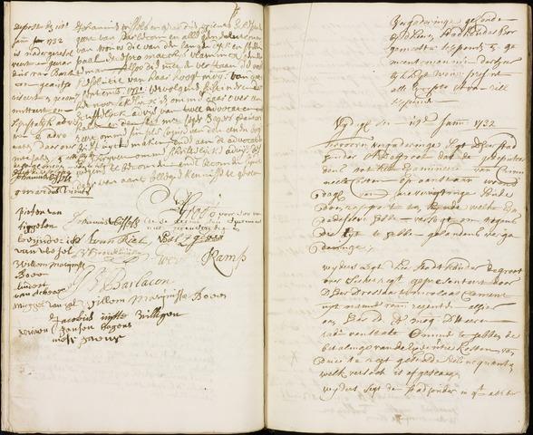 Wouw: Registers van resoluties, 1593-1811 1732