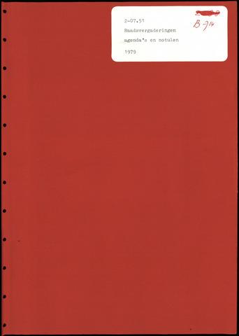 Putte: Notulen gemeenteraad, 1928-1996 1979-01-01