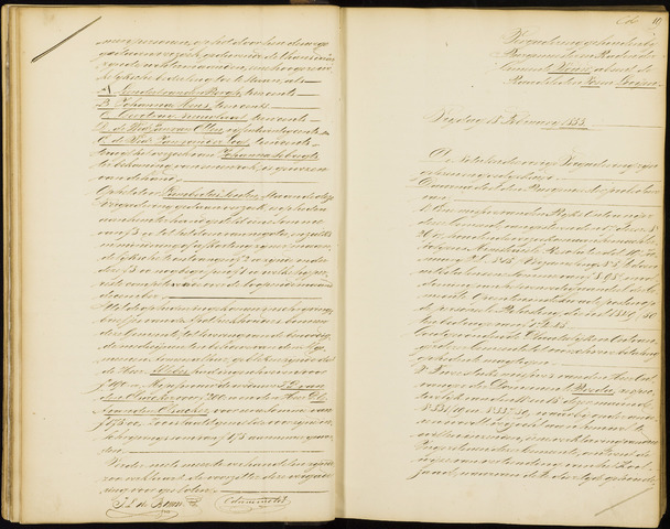 Wouw: Notulen gemeenteraad, 1813-1996 1853