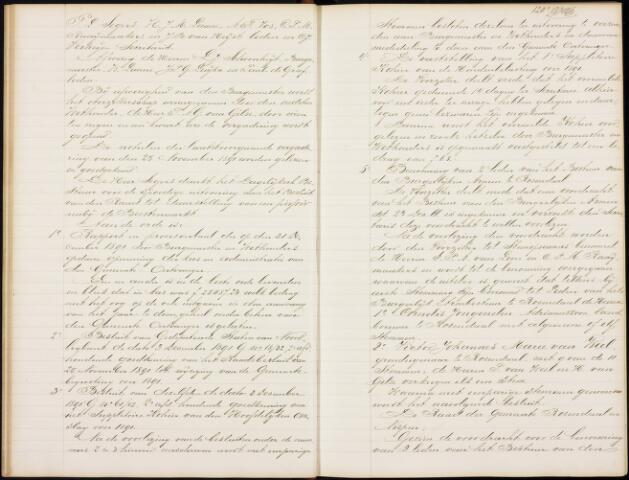 Roosendaal: Notulen gemeenteraad, 1851-1917 1892