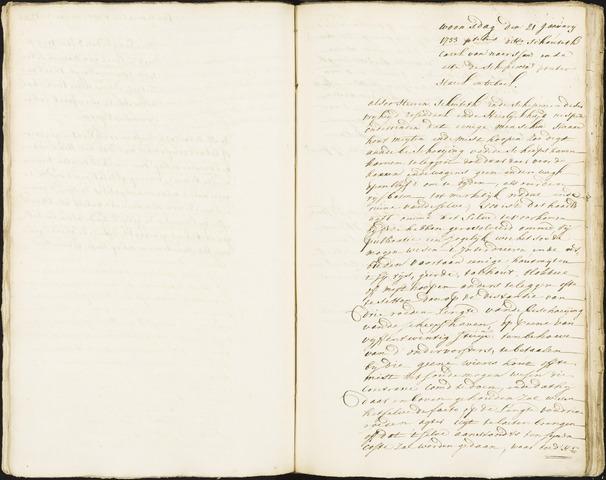 Roosendaal: Registers van resoluties, 1671-1673, 1675, 1677-1795 1733