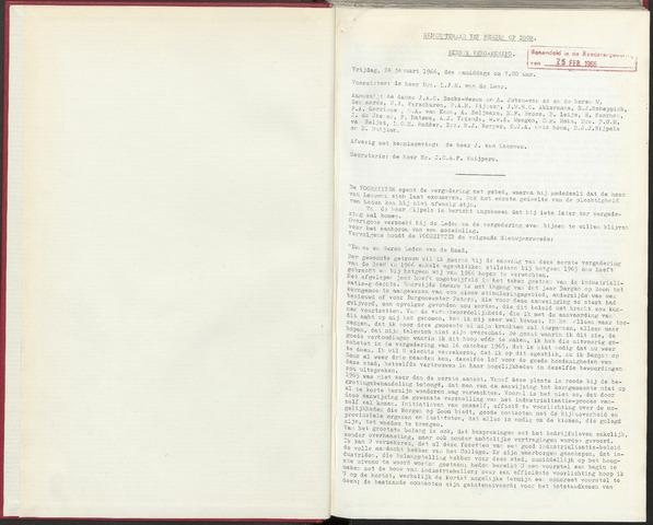 Bergen op Zoom: Notulen gemeenteraad, 1926-1996 1966-01-01