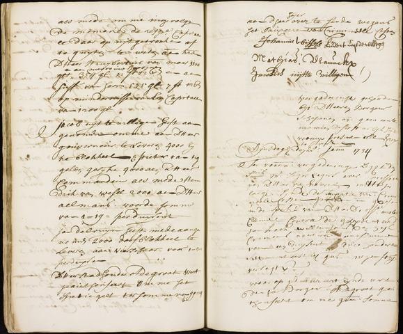 Wouw: Registers van resoluties, 1593-1811 1734