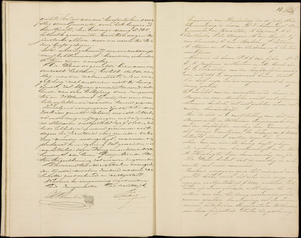 Roosendaal: Notulen gemeenteraad (besloten), 1851-1916 1862