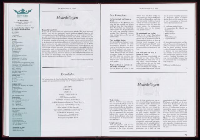 De Waterschans 1999-09-01