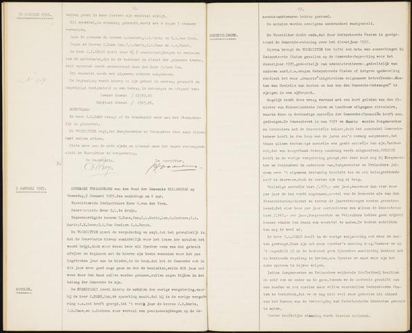 Willemstad: Notulen gemeenteraad, 1927-1995 1929-01-01