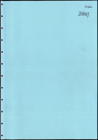 Putte: Notulen gemeenteraad, 1928-1996 1985-01-01