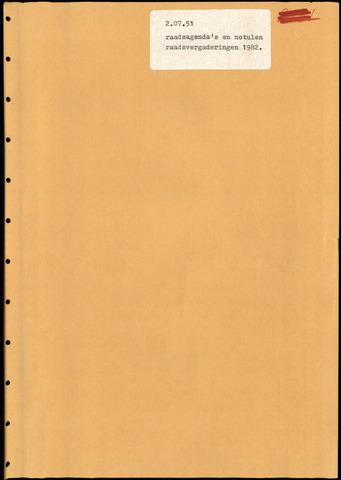 Putte: Notulen gemeenteraad, 1928-1996 1982-01-01