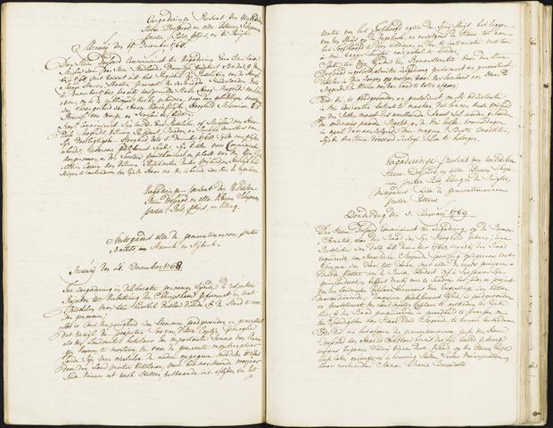 Roosendaal: Registers van resoluties, 1671-1673, 1675, 1677-1795 1769
