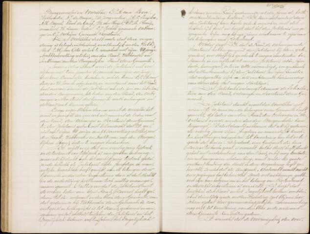 Roosendaal: Notulen gemeenteraad, 1851-1917 1891