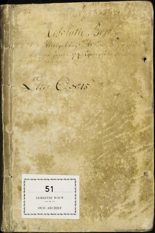Wouw: Registers van resoluties, 1593-1811 1743