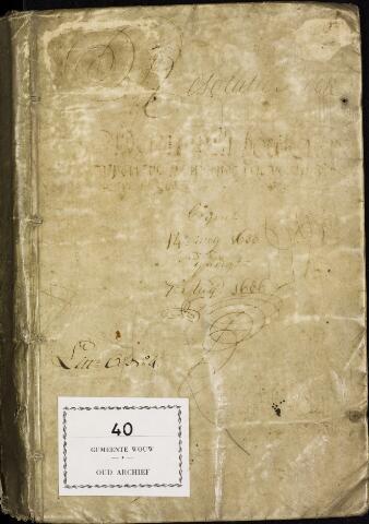Wouw: Registers van resoluties, 1593-1811 1638