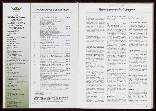 De Waterschans 1991-06-01