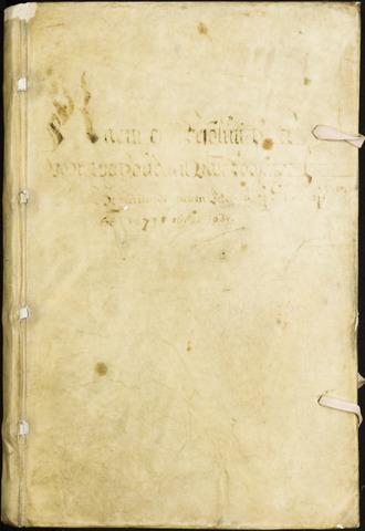 Roosendaal: Registers van resoluties, 1671-1673, 1675, 1677-1795 1677