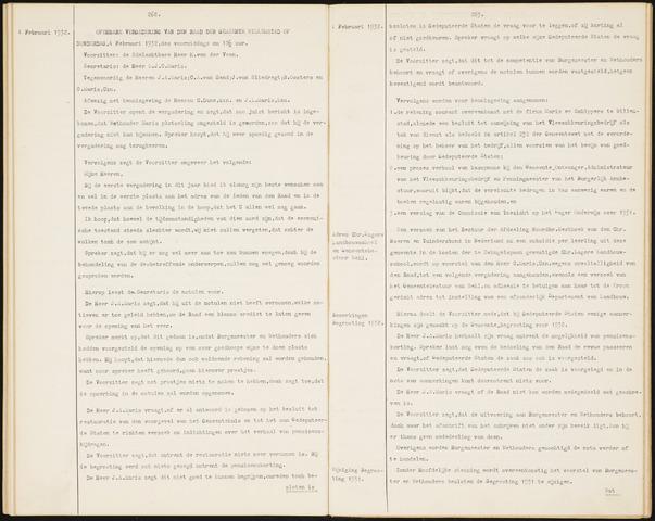 Willemstad: Notulen gemeenteraad, 1927-1995 1932-01-01