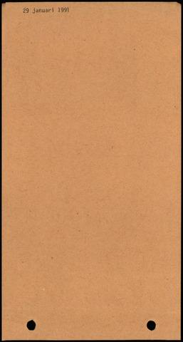 Dinteloord: Notulen gemeenteraad, 1946-1996 1991