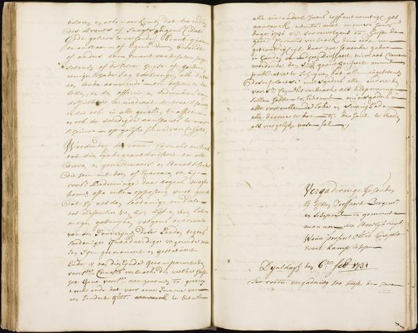 Wouw: Registers van resoluties, 1593-1811 1731