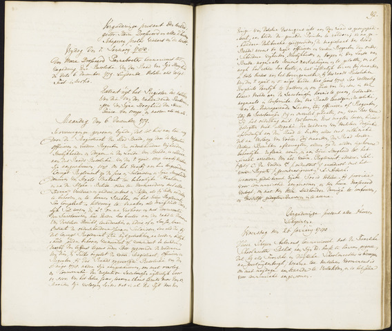 Roosendaal: Registers van resoluties, 1671-1673, 1675, 1677-1795 1780