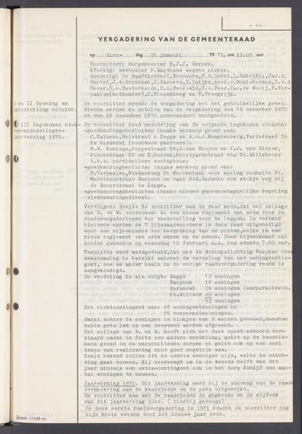 Rucphen: Notulen gemeenteraad, dec. 1949-1998 1971-01-01