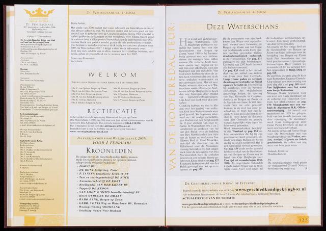 De Waterschans 2006-12-01