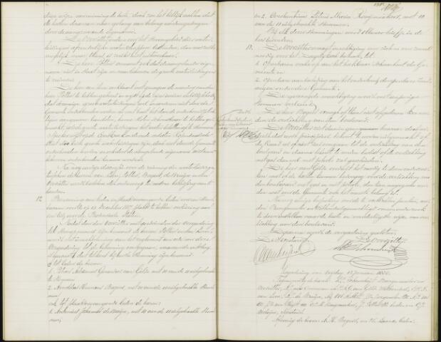 Roosendaal: Notulen gemeenteraad, 1851-1917 1888