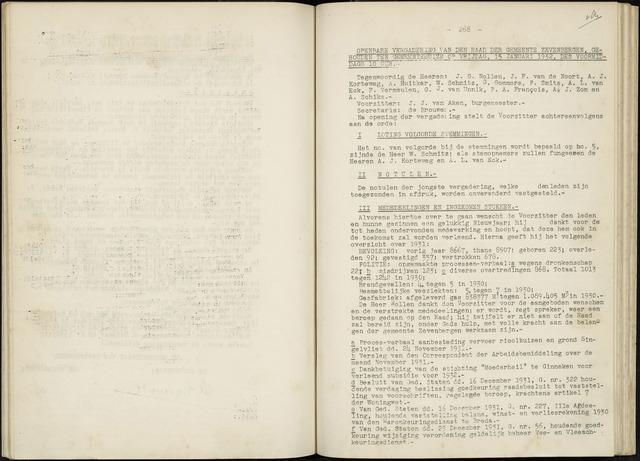 Zevenbergen: Notulen gemeenteraad, 1930-1996 1932-01-01