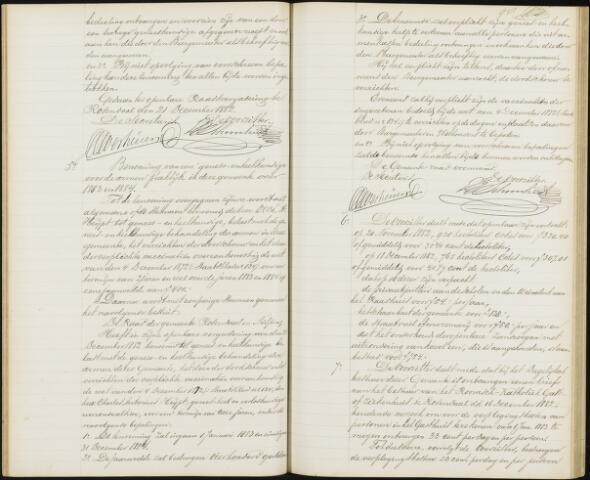 Roosendaal: Notulen gemeenteraad, 1851-1917 1883
