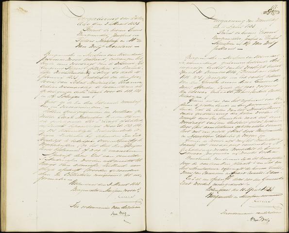 Roosendaal: Notulen van burgemeester en assessoren, 1827-1851 1838