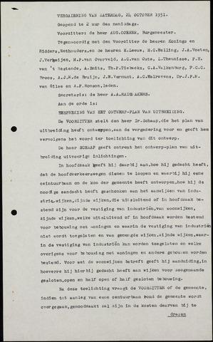 Roosendaal: Notulen gemeenteraad (besloten), 1919-1935 1931