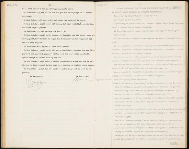 Willemstad: Notulen gemeenteraad, 1927-1995 1935-01-01