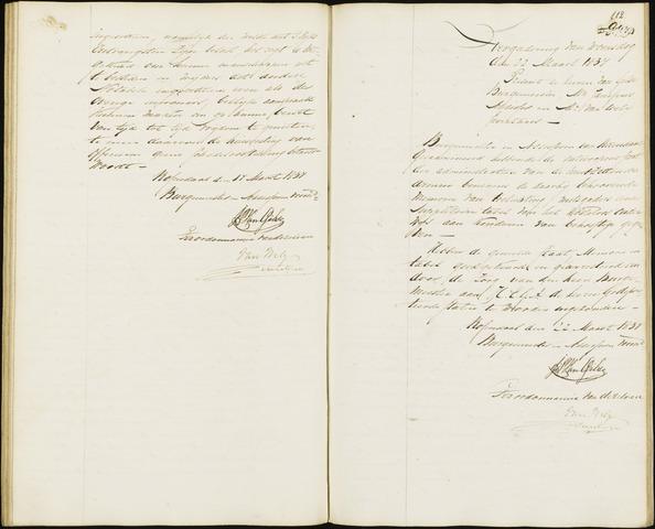Roosendaal: Notulen van burgemeester en assessoren, 1827-1851 1837