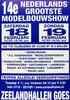 14e modelbouwshow in de Zeelandhallen
