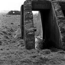 restant van een bunker