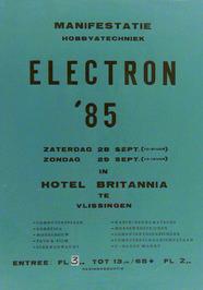 manifestatie Electron 85 in hotel Britannia