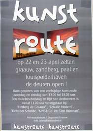 kunstroute Graauw, Zandberg, Paal en Kruispolderhaven
