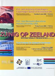 internationale presentaties met als thema: Zuinig op Zeeland